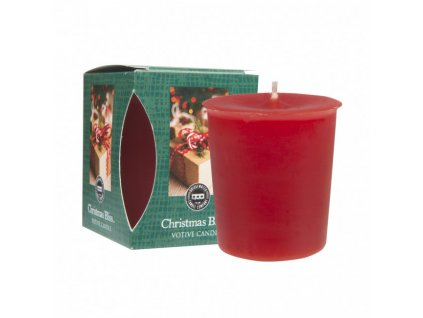 bw boxed votive christmas bliss group