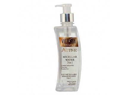 Victoria Beauty Active Micelární pleťová voda 3 v 1, 400 ml