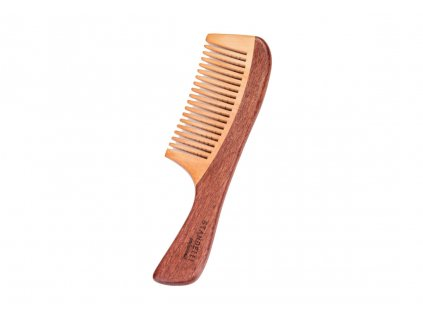 Standelli Professional Luxusní dřevěný hřeben na vlasy, 19 cm
