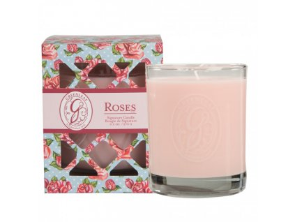 gl signature candle roses