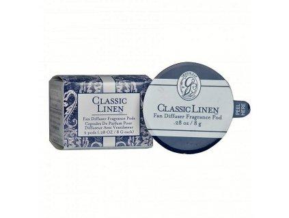 gl fragrance fan diffuser pods classic linen