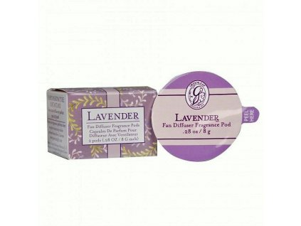 gl fragrance fan diffuser pods lavender