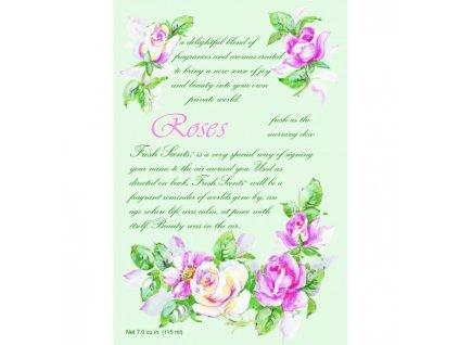 wb envelope sachet roses