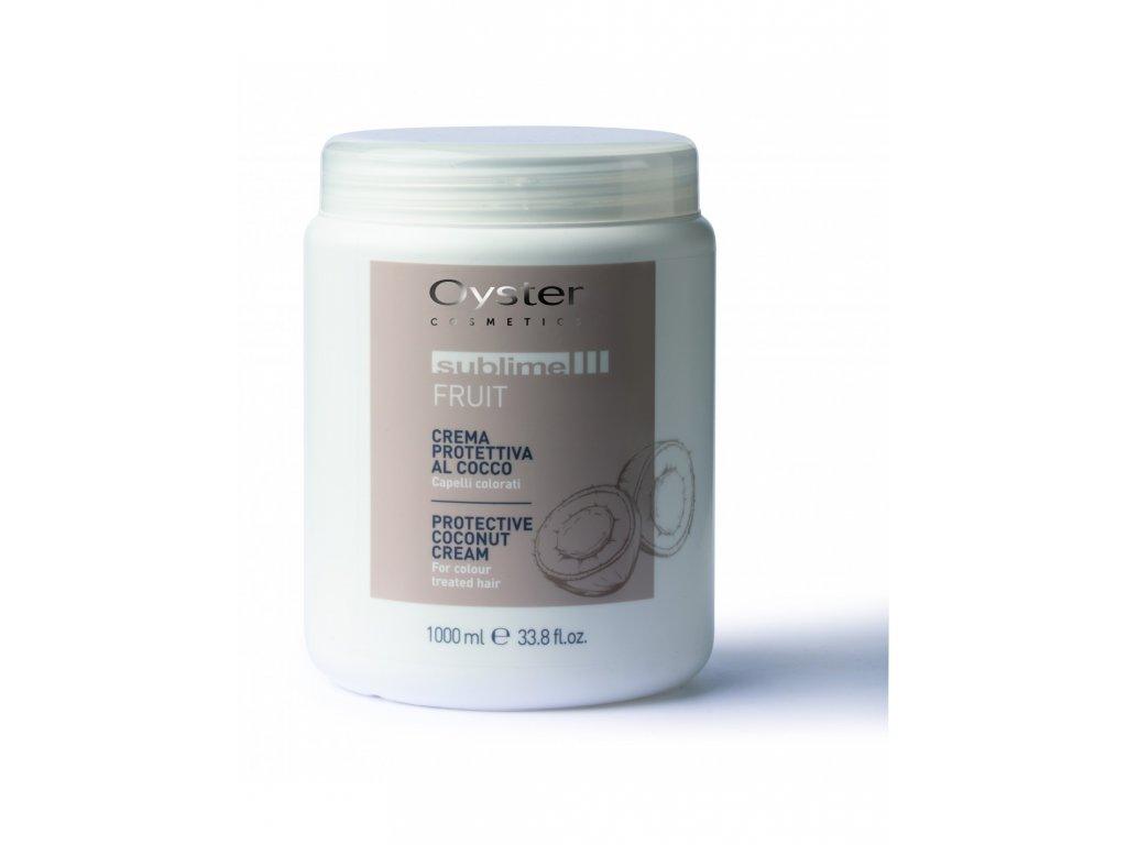 cream sublime cocco protective mask cream coconut 1000ml (1)