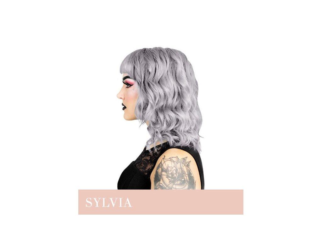 Herman's Professional  - přímá pigmentová barva SYLVIA SILVER