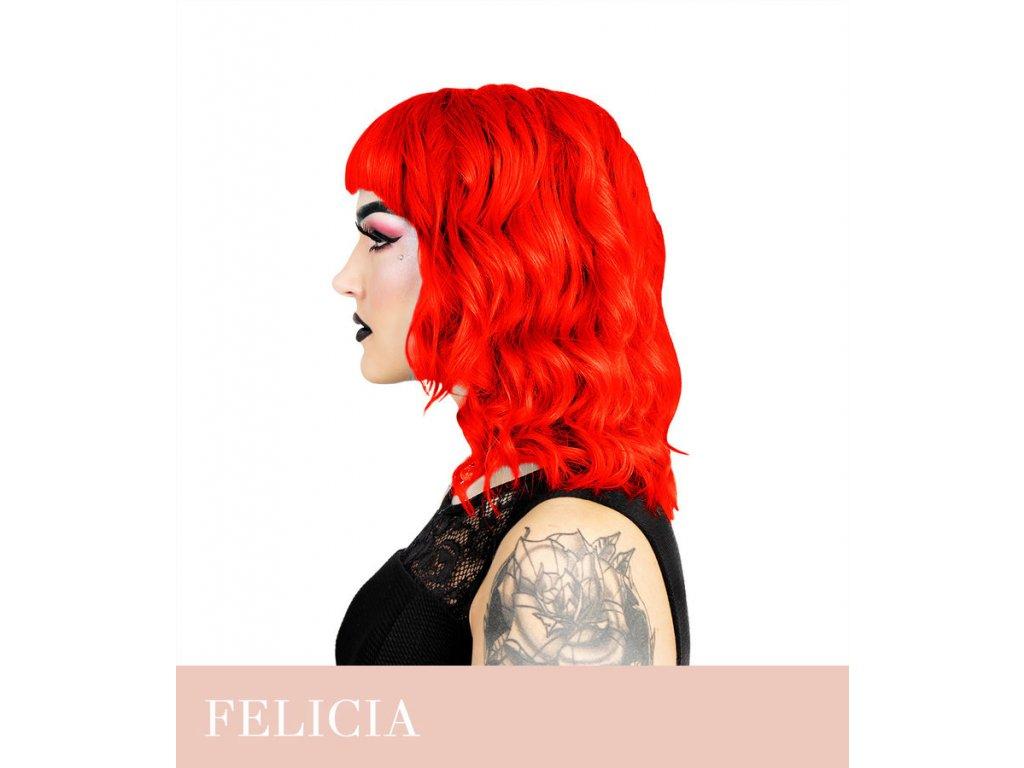 Herman's Professional - přímá pigmentová barva UV Felicia Fire