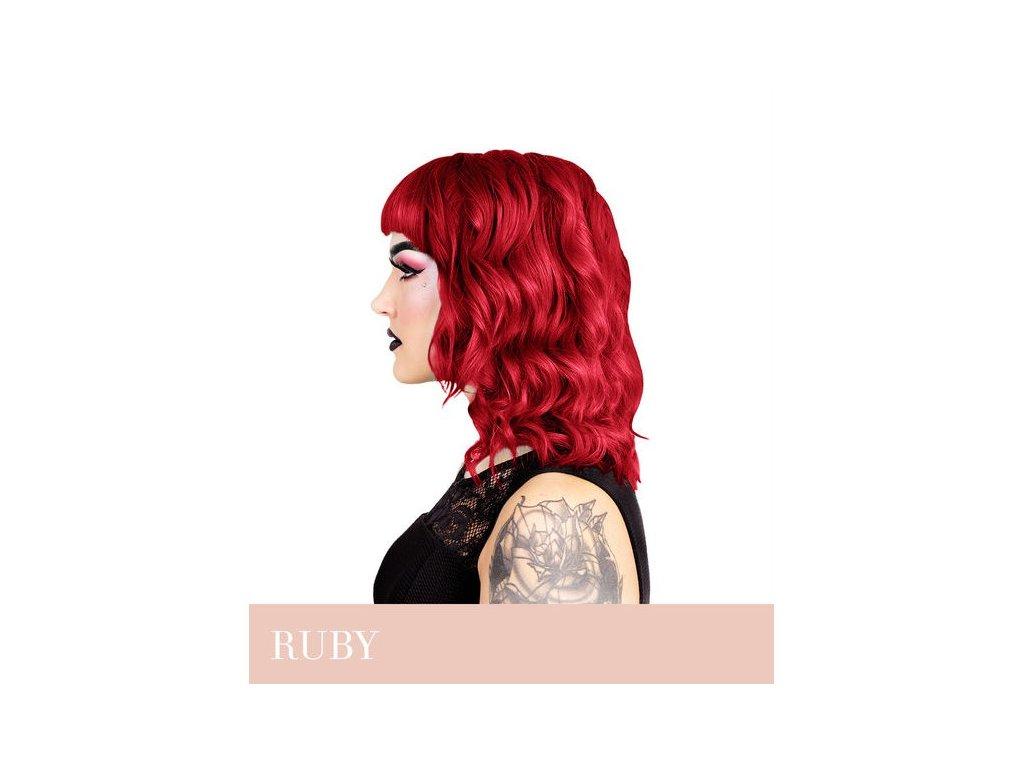 Herman's Professional  - přímá pigmentová barva RUBY RED
