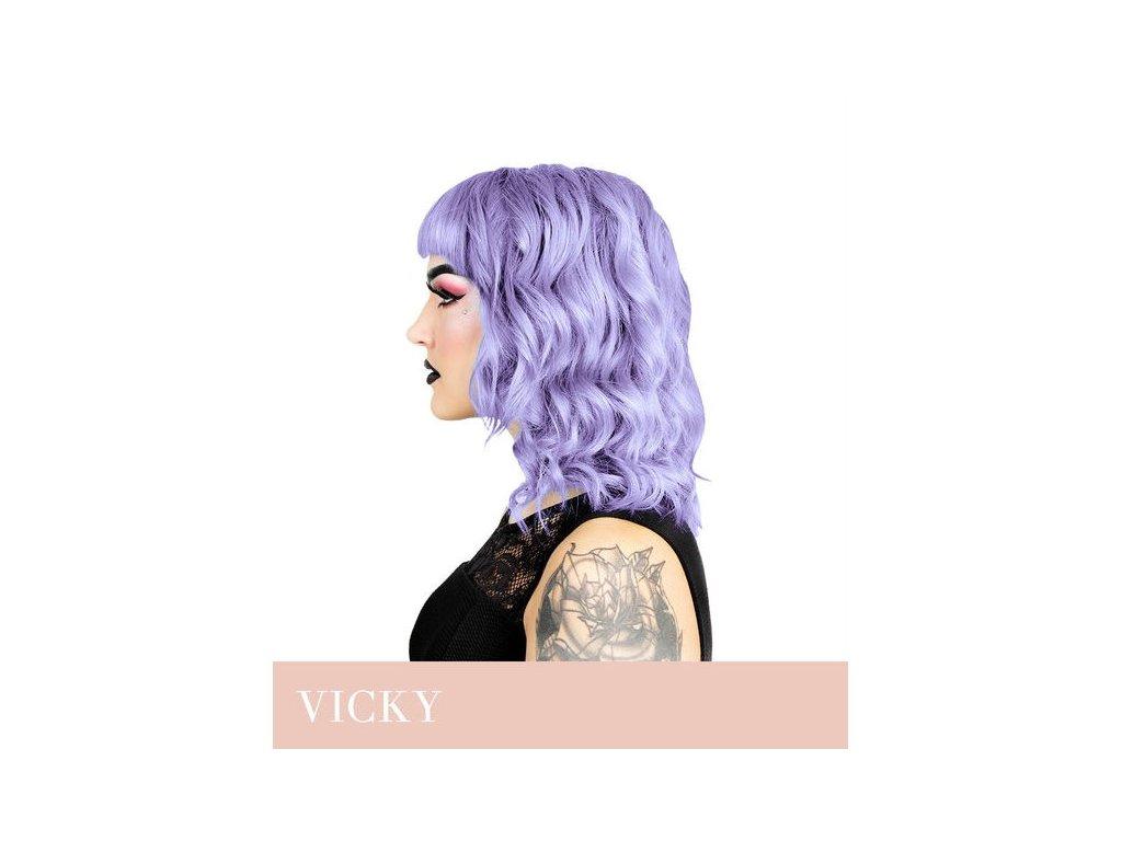 Herman's Professional - přímá pigmentová barva VICKY VIOLET