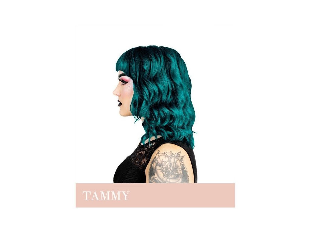 Herman's Professional - přímá pigmentová barva TAMMY TURQOISE