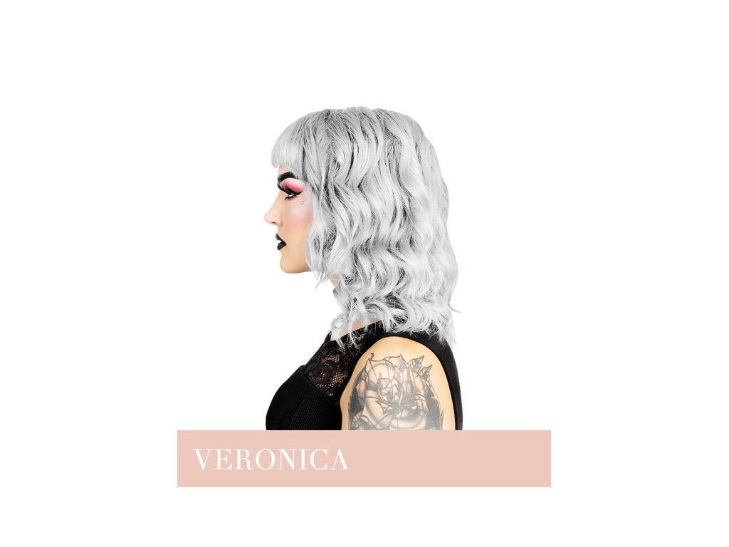 Herman's Professional - přímá pigmentová barva Platinum Veronica White