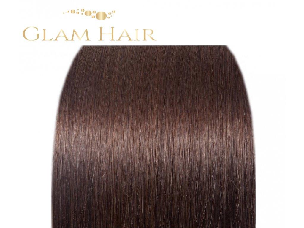 GLAM HAIR -  3 Tmavě hnědá