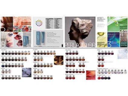 Vzorník OYSTER - Perla color - papírový