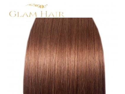 GLAM HAIR -  6 Středně hnědá
