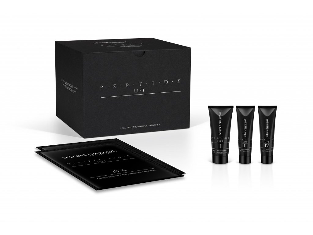 Selvert peptidové saloní ošetření - Ultra Lifting Peptide Treatment Pack