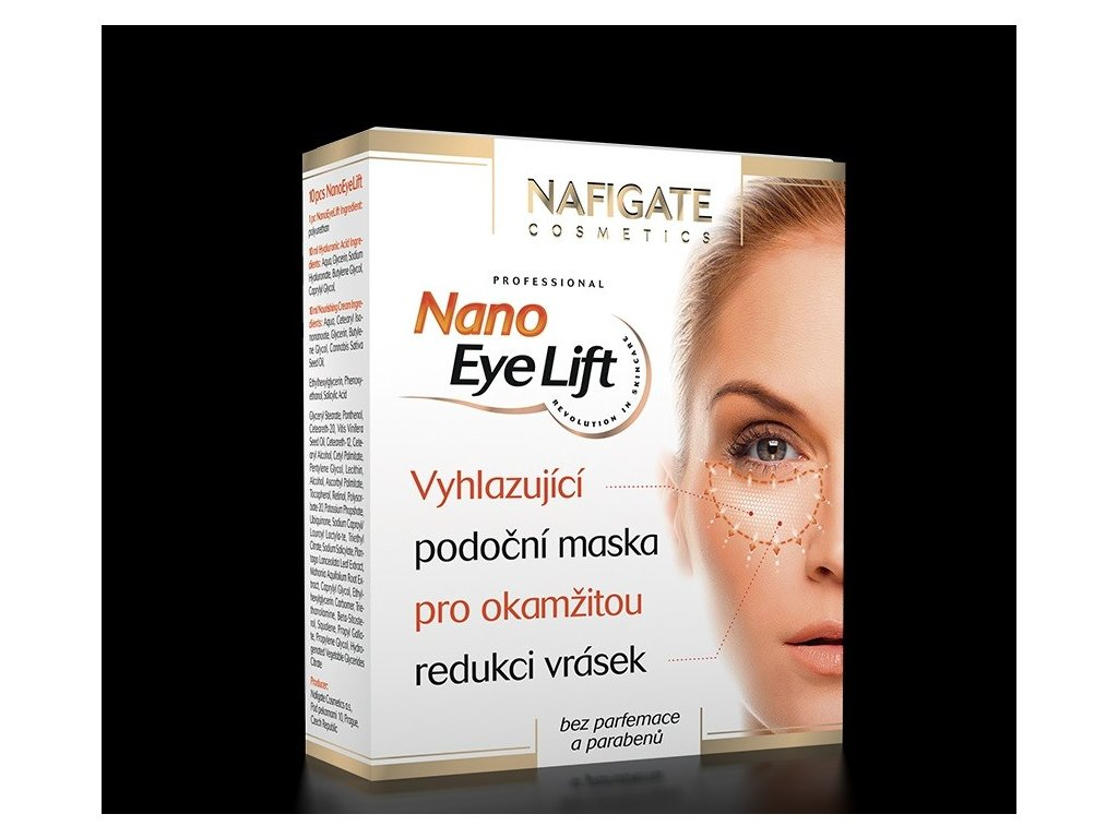 NAFIGATE Podoční maska Nano Eye Lift (13párů)
