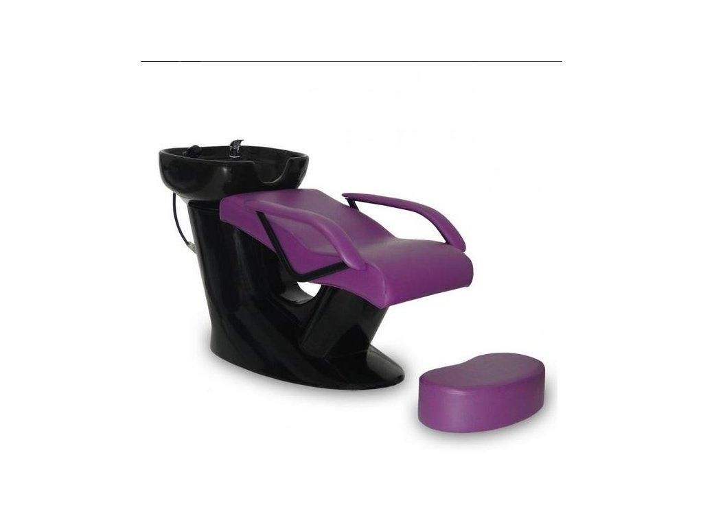 Mycí box Bari - fialový