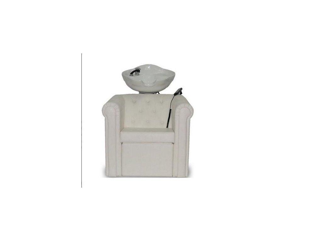 Mycí box Rimini - bílý
