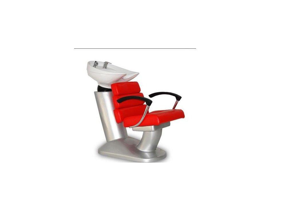Mycí box Italpro - červený