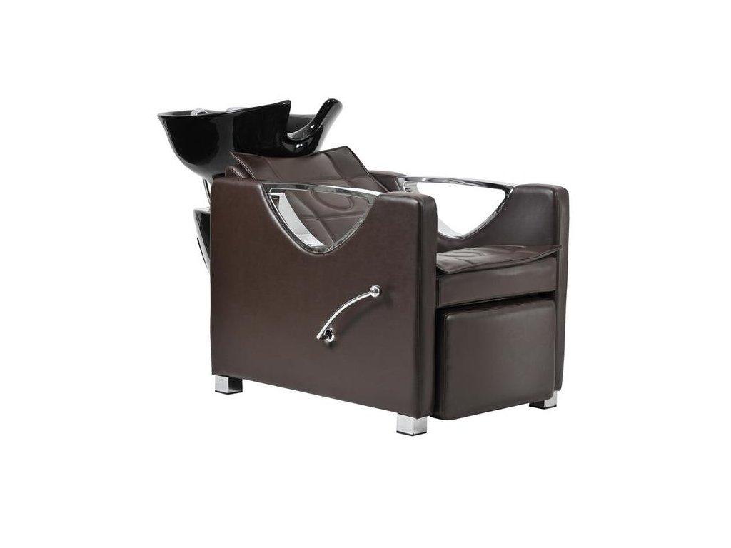 Mycí box Bristol - hnědý