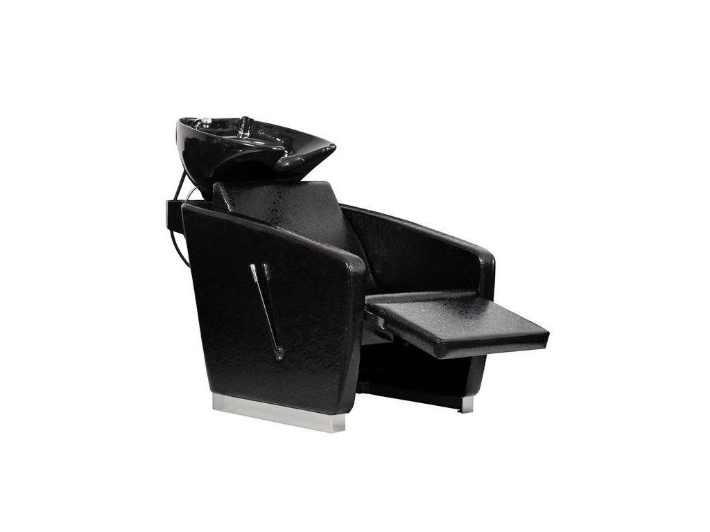 Mycí box Lux - černá imitace krokodýlí kůže