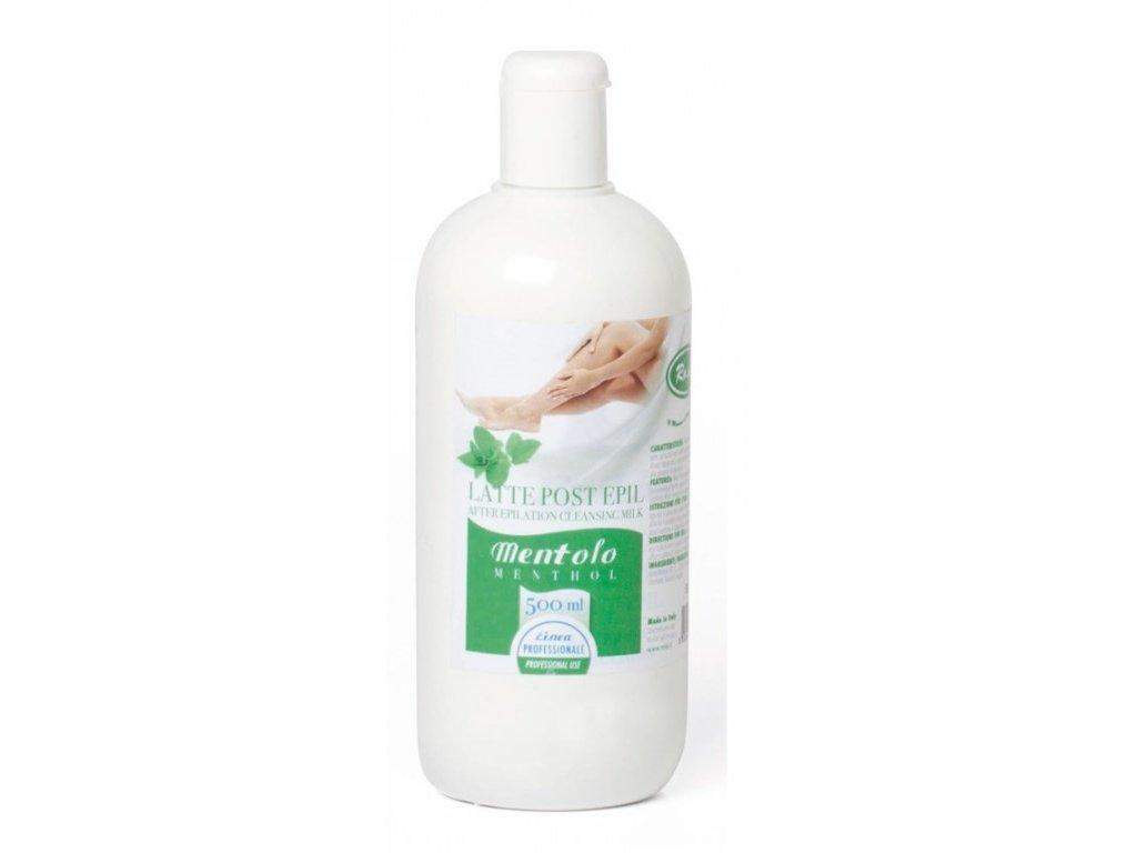 Mléko po depilaci - Mentol