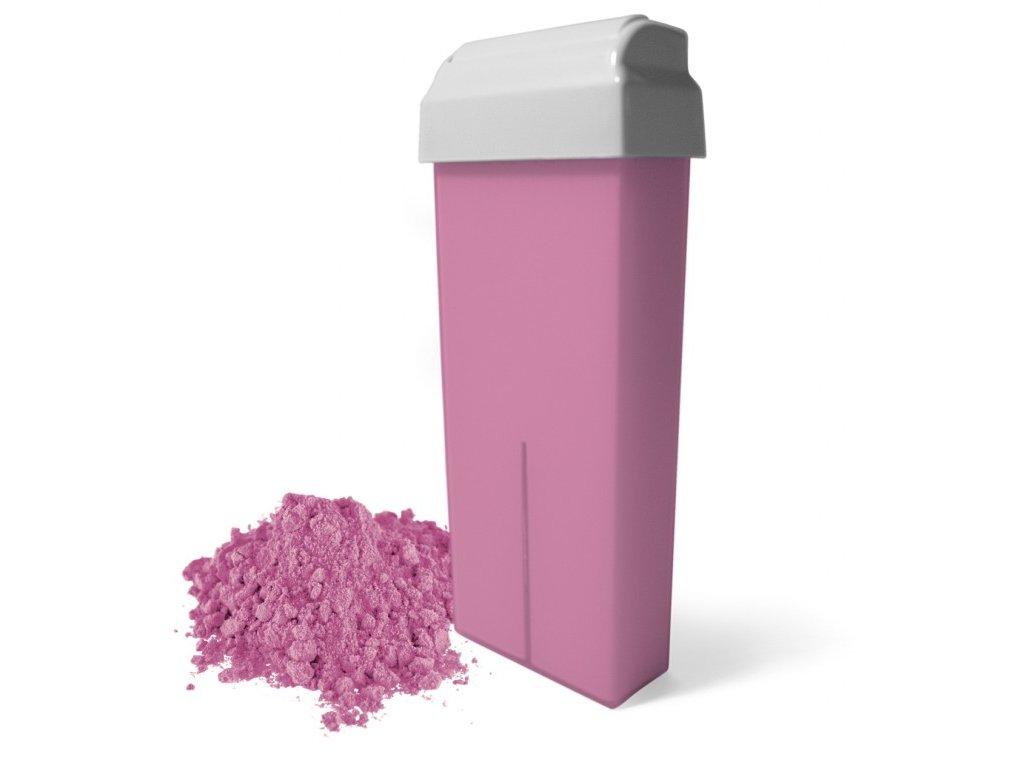 Depilační vosk - Růžový s titan dioxidem 100ml
