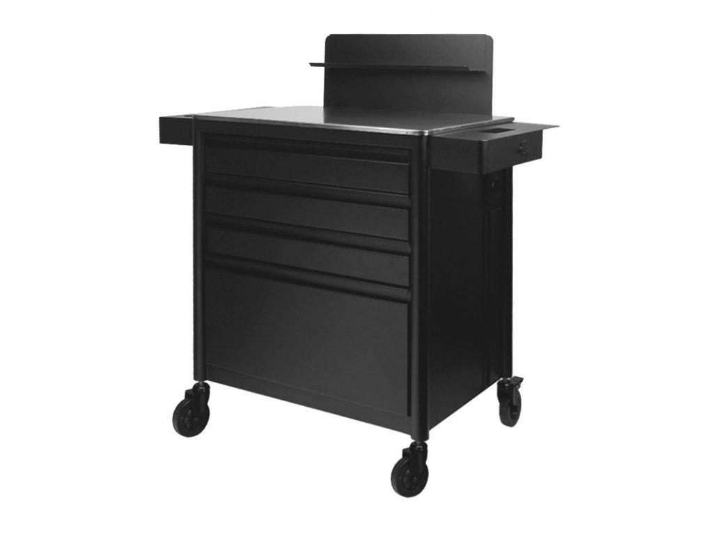 Profesionální stolek pro tetovací studia PRO INK 701 černý