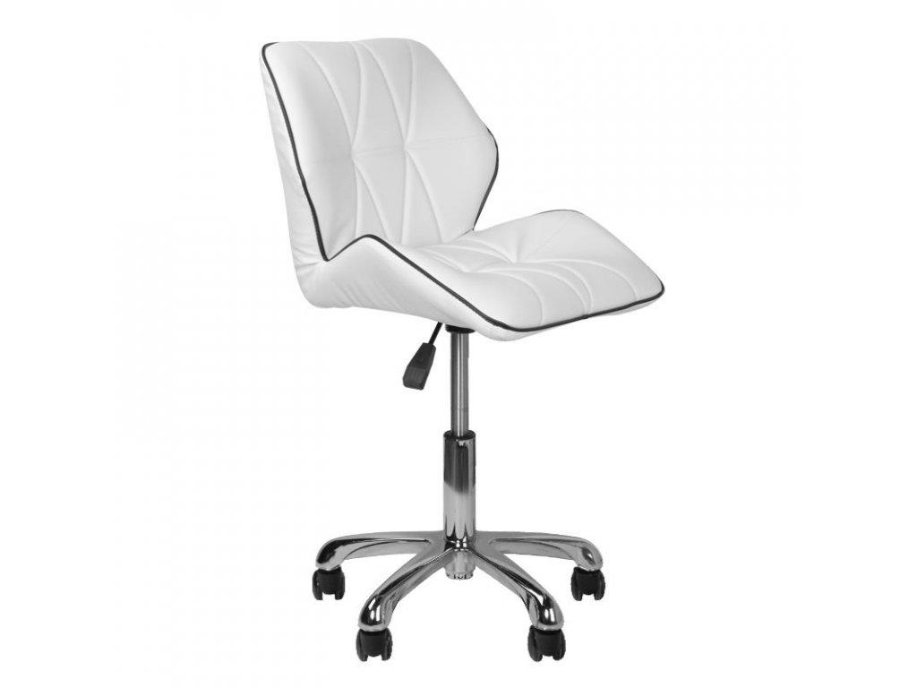 Kosmetická židle - 239A bílá