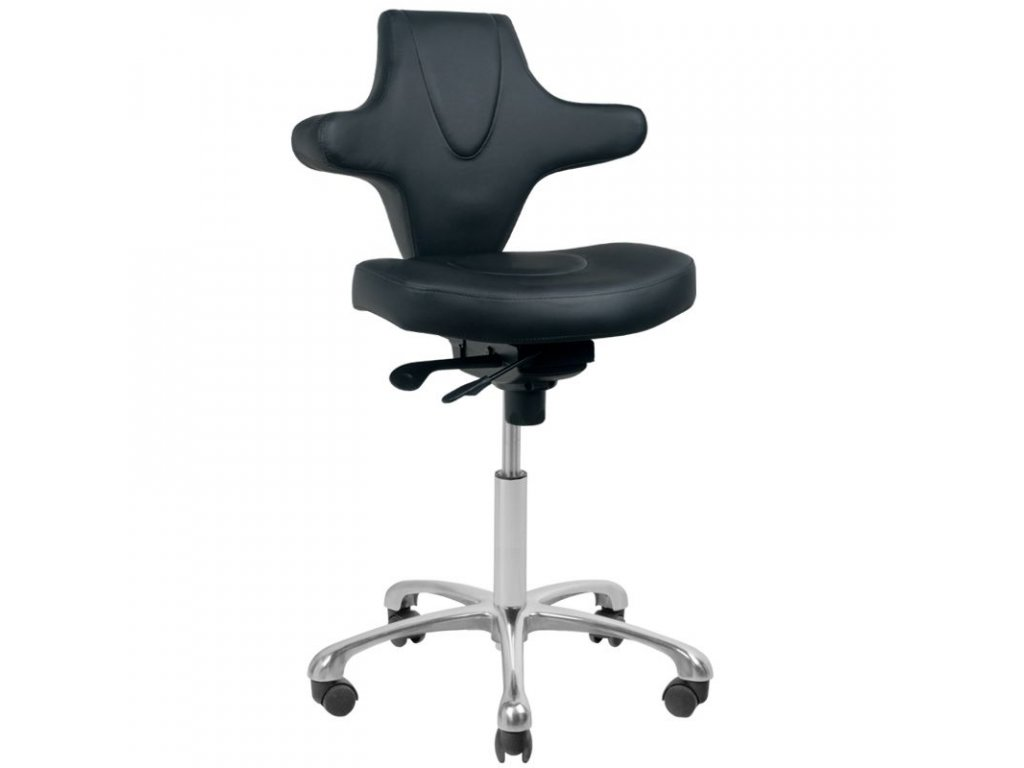Kosmetická židle - AZZURRO  052 černá