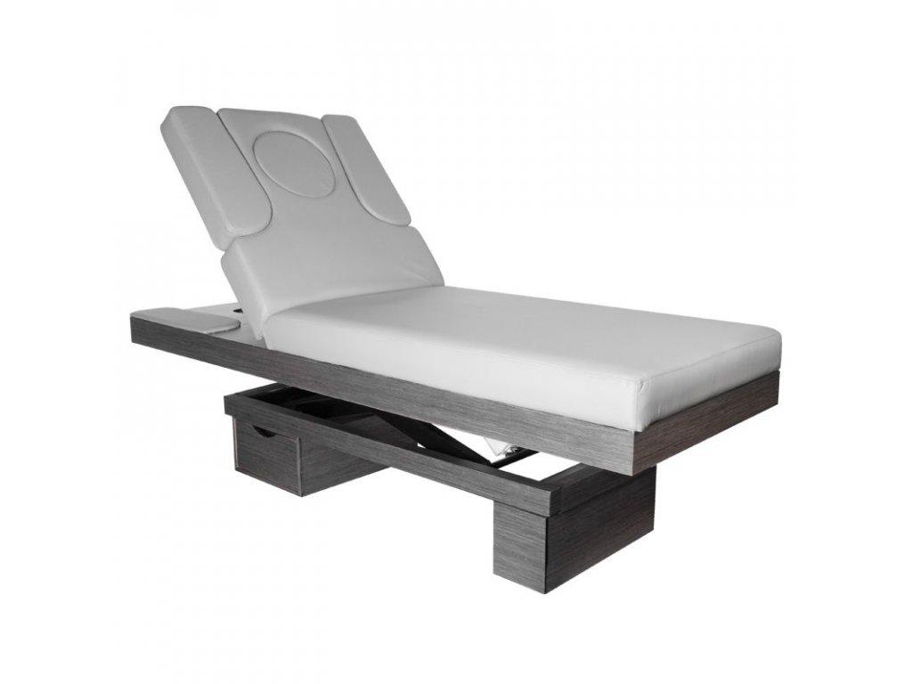 Masážní lehátko - AZZURRO 815B šedé