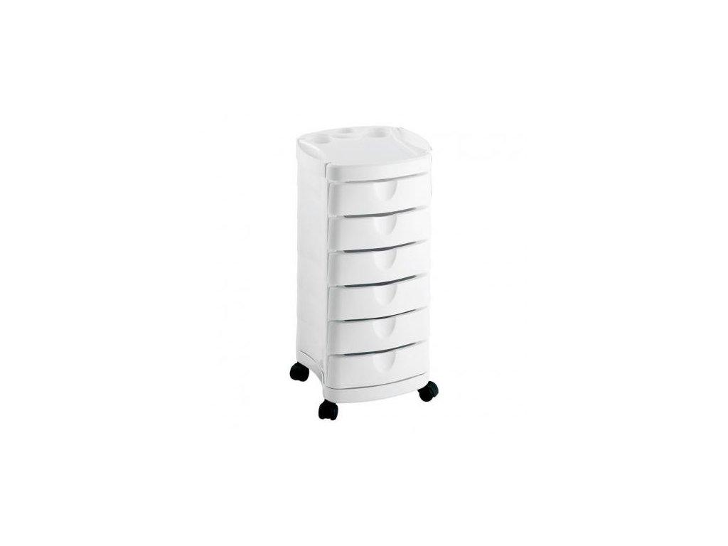 Kadeřnický stolek Ceriotti Ciak bílá