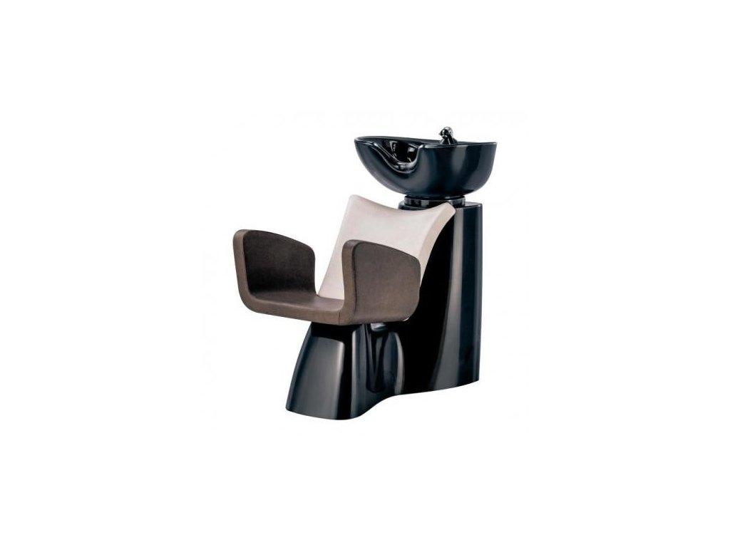 Kadeřnický mycí box Ceriotti Fiber Lilac