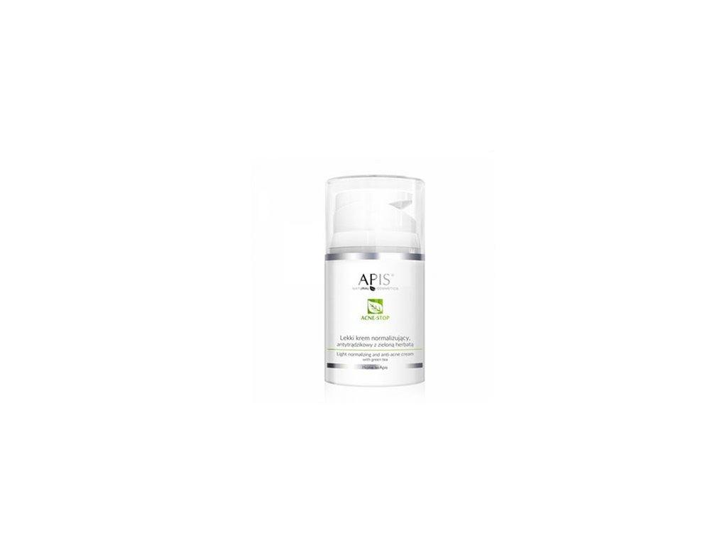 APIS Lehký normalizující krém proti akné - zelený čaj 50 ml