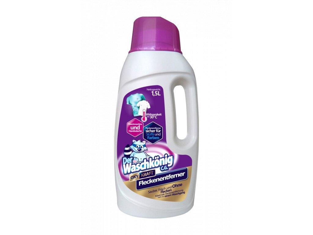 6108 waschkonig oxy kraft gel color fleckentferner 1 5 l odstraňovač skvrn