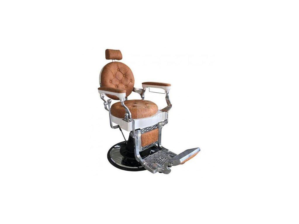 Kadeřnické pánské křeslo barber Retro