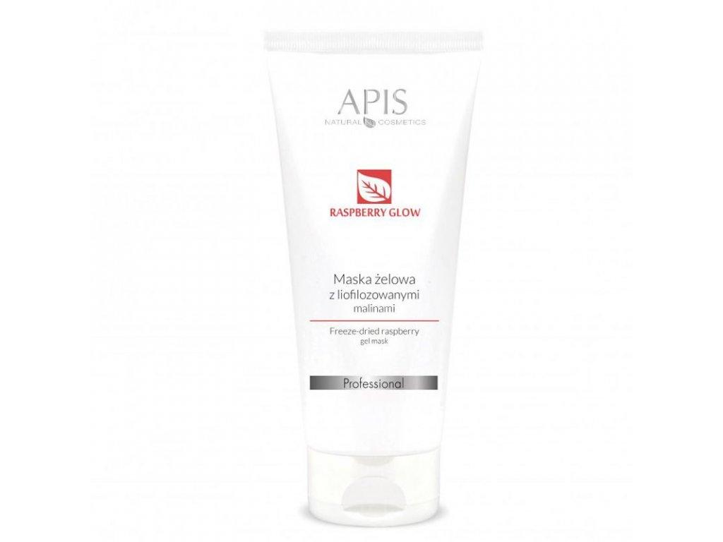 APIS Gelová maska s lyofilizovanými malinami 200ml