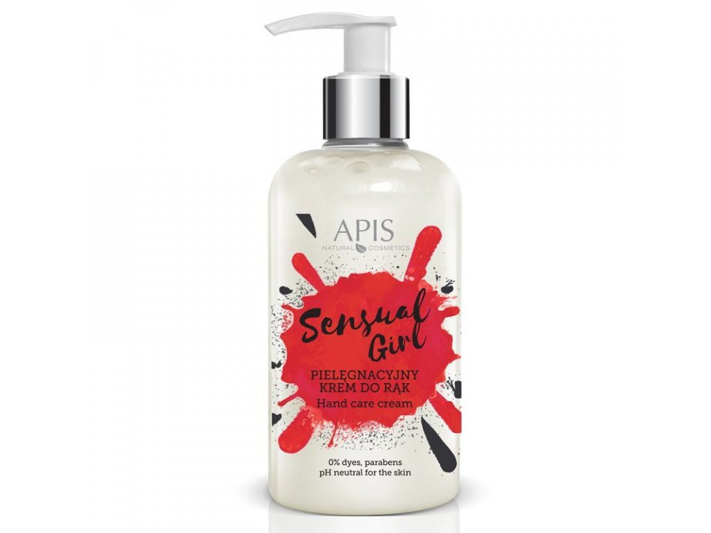 APIS Sensual Girl - ošetřující krém na ruce 300ml