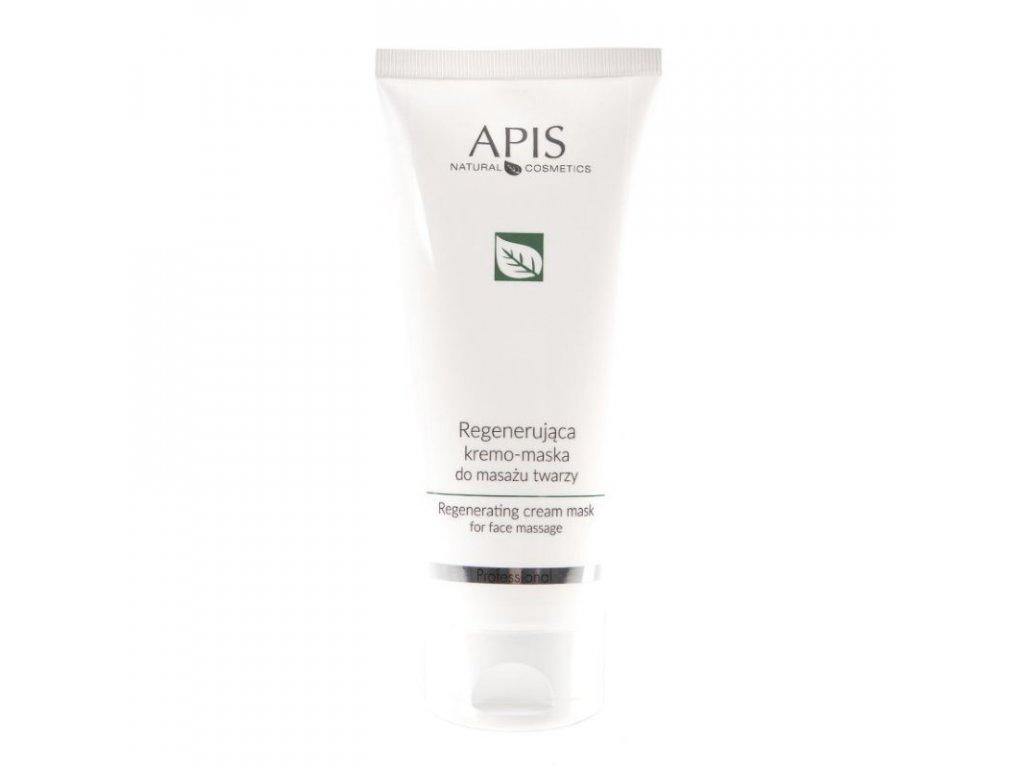 APIS Regenerační krémová maska na masáž obličeje 200 ml