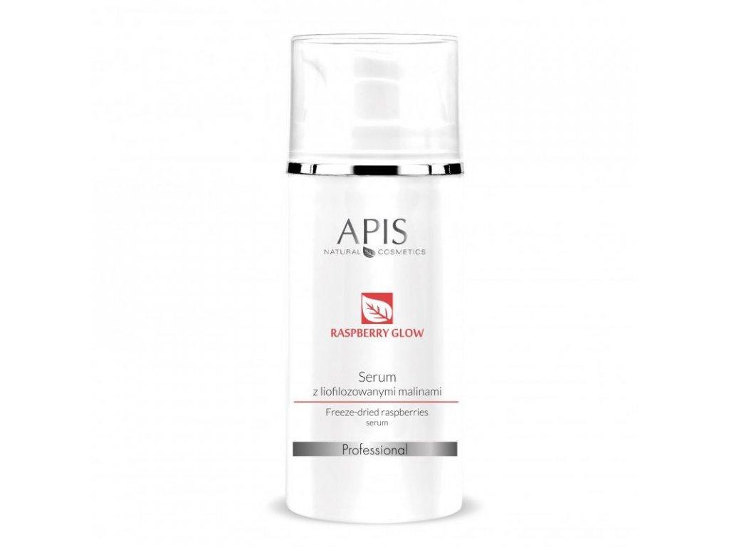 APIS sérum s lyofilizovanými malinami 100ml