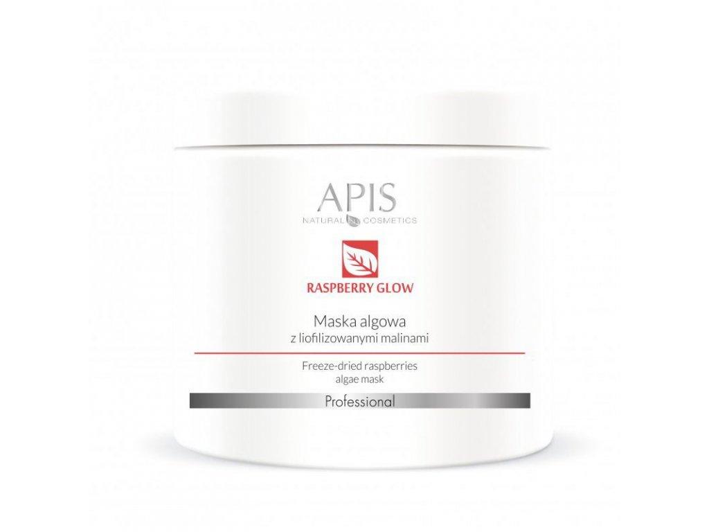 APIS Maska z řas s lyofilizovanými malinami 250g