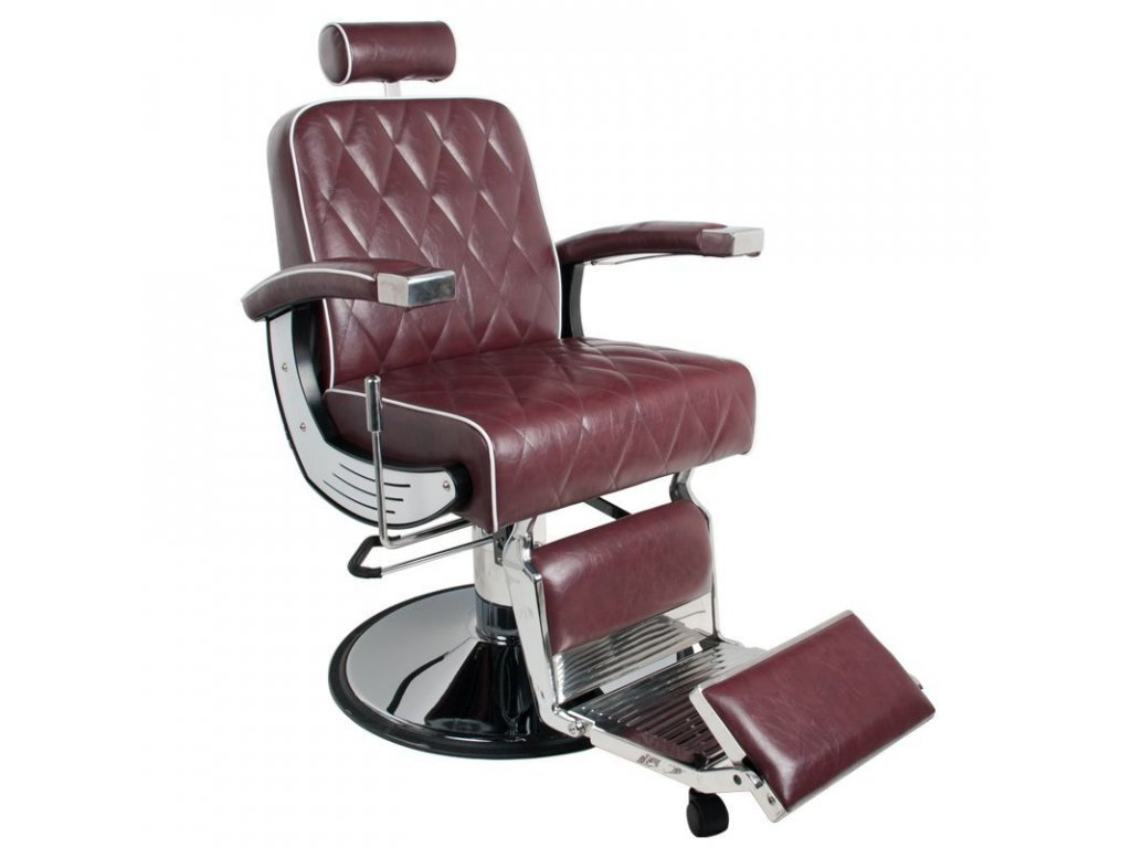 GABBIANO BARBER CHAIR IMPERIAL Bordeaux