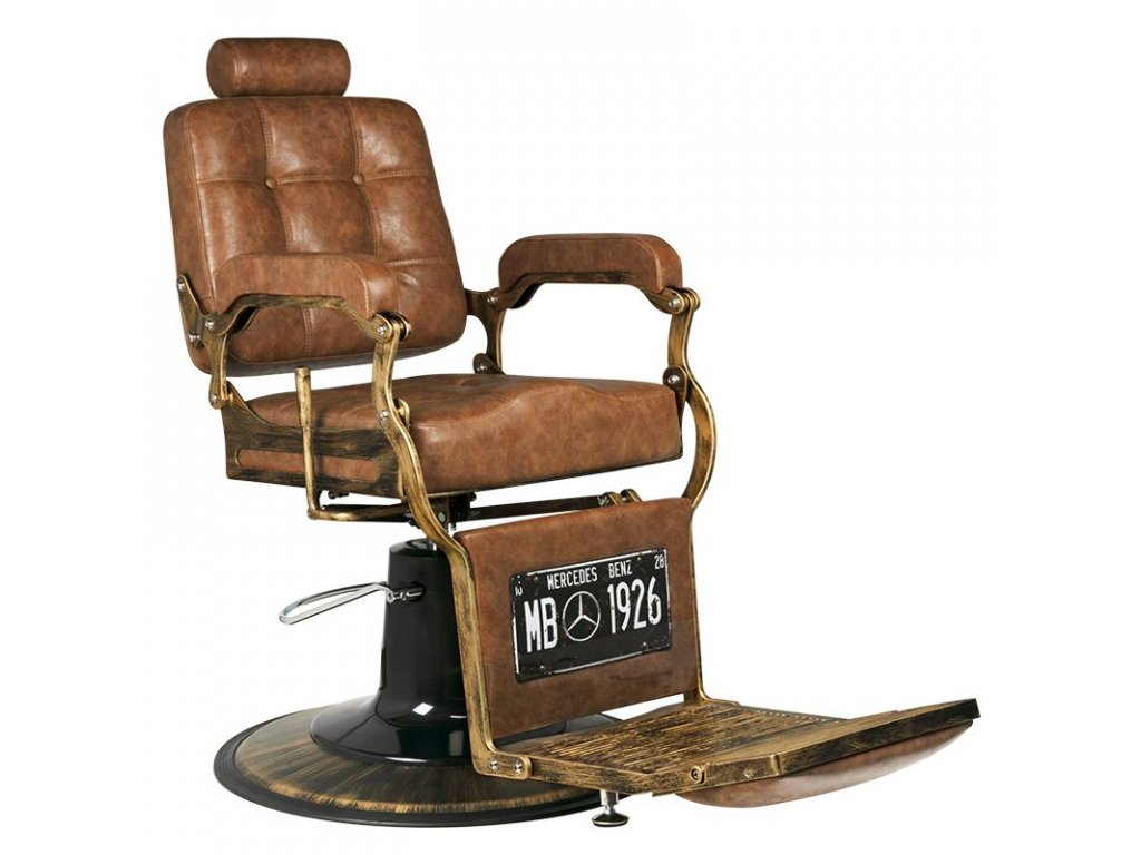ŽIDLE GABBIANO BOSS OLD LEATHER LIGHT BROWN