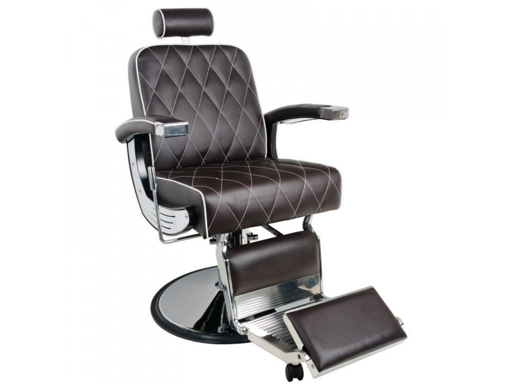 GABBIANO BARBER CHAIR IMPERIAL HNĚDÁ