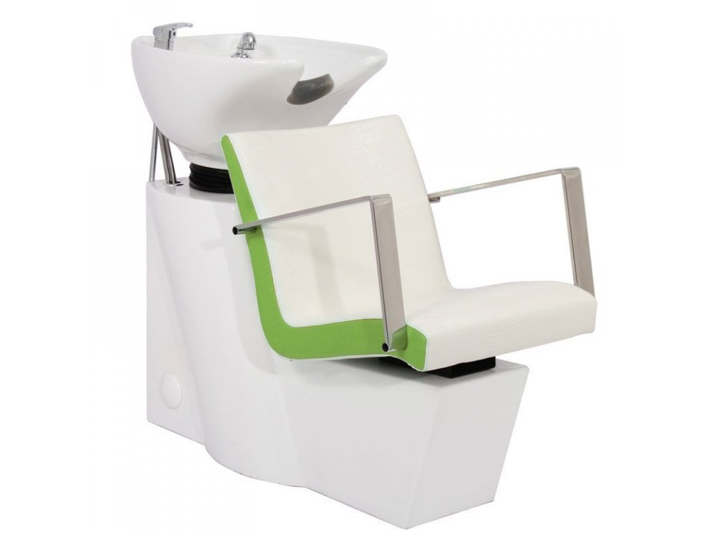 GABBIANO HAIR WASH UNIT ROMA WHITE-GREEN