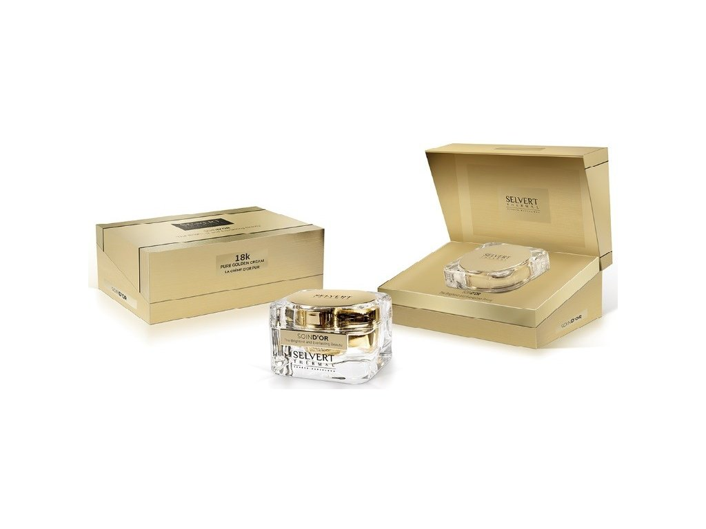 Pleťový krém se zlatem - Soin D´Or 18k Pure Golden Cream