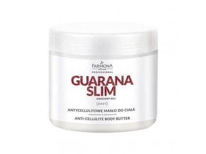 FARMONA GUARANA SLIM Anticelulitidní tělové máslo 500 ml