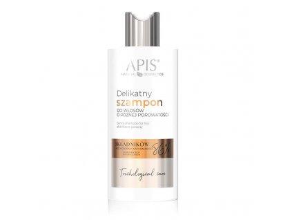 APIS TRICHOLOGICAL CARE Jemný šampon na vlasy s různou pórovitostí 300ml