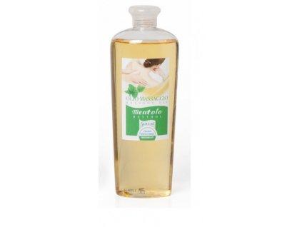 Masážní olej - Mentol 500ml