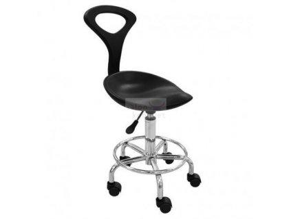 Kosmetická židle Miki černá