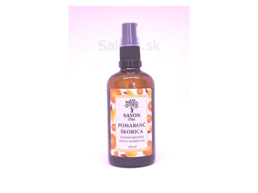 157 1 telovy olej pomaranc skorica